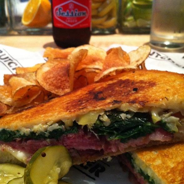 Blackboard Bacon Sandwich @ Cochon Butcher