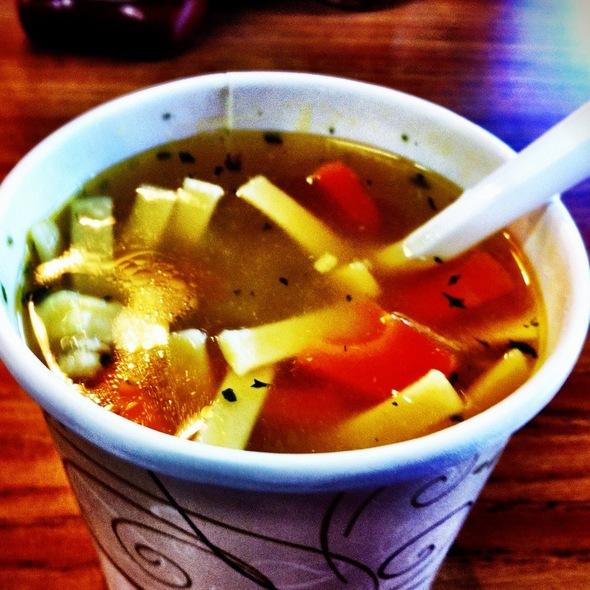 Chicken Noodle Soup @ Stacked Deli