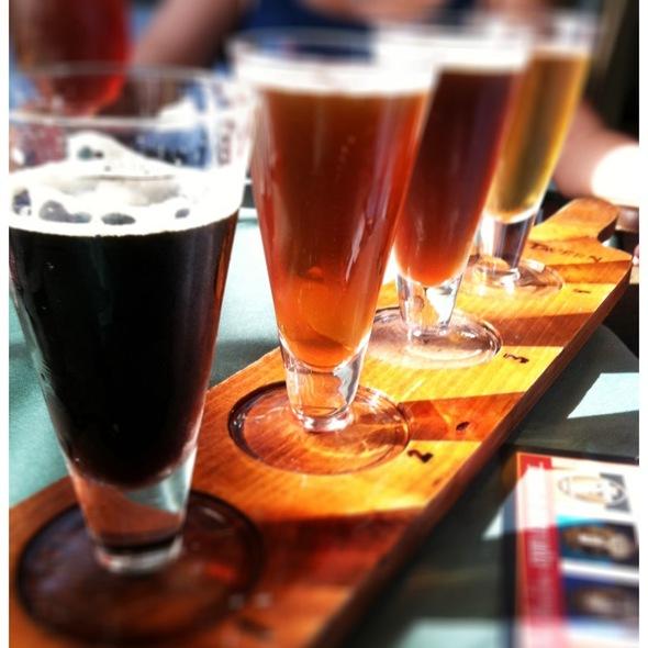 Beer Sampler - City Tavern, Philadelphia, PA