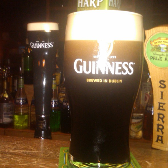 Guinness @ Nanny O'Brien's Irish Pub