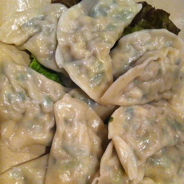 Steamed Tofu Dumplings @ Cho Dang Gol