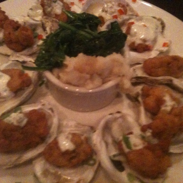 fried oysters @ Water Grill