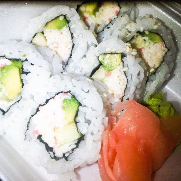 California Roll @ Bento & Noodles