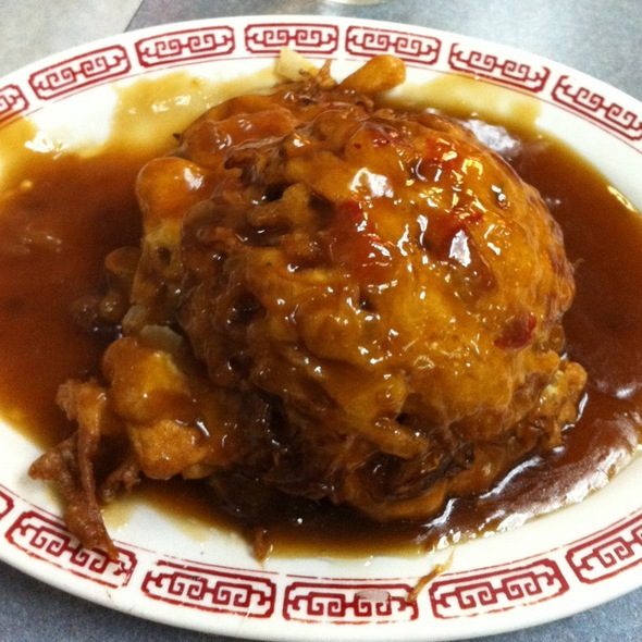Roast Pork Egg Foo Young @ 69 Chinese Restaurant