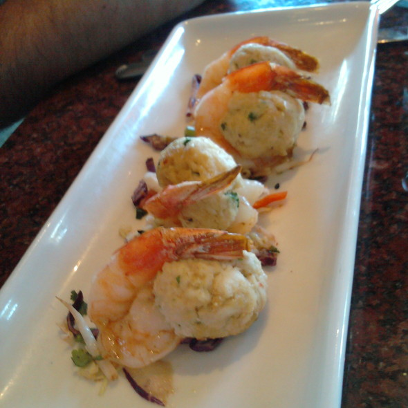 Crab Stuffed Shrimp @ Gordon Biersch Brewing Co