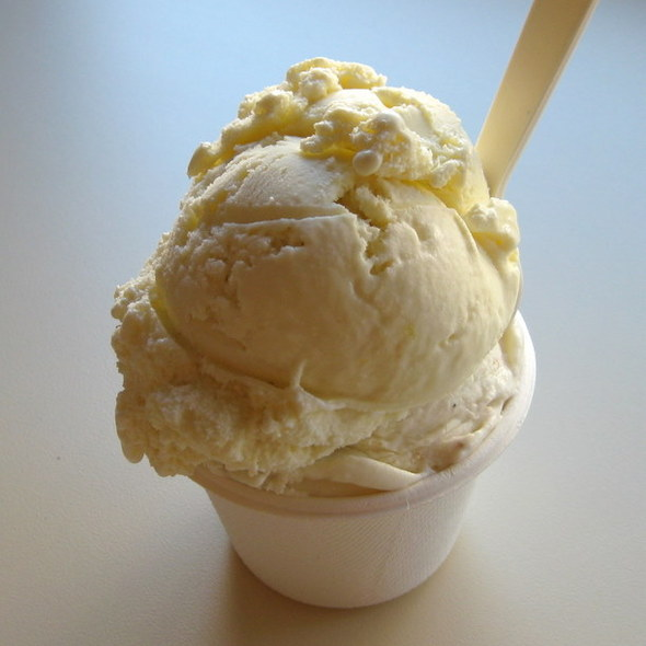 olive oil ice cream @ Humphry Slocombe