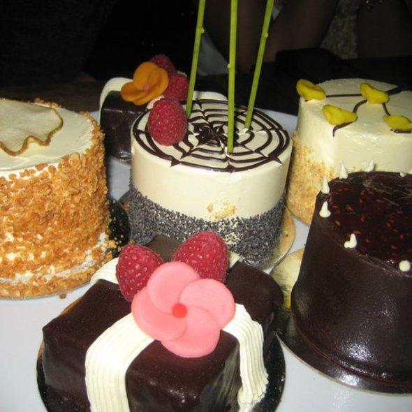 Assorted Petit Desserts @ Black Hound New York