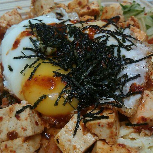Tofu Bibimbap @ HRD Coffee Shop