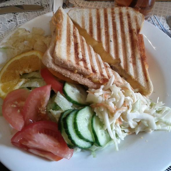 Tuna Mayonaise and Cheese Toasted Sandwich @ Clarinda's Tearoom