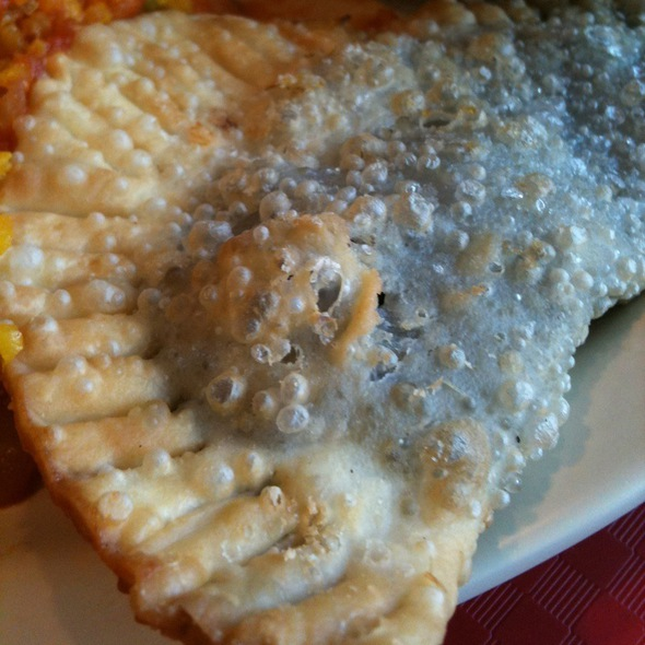 Black Bean Empanada W Jalapenos @ The Original Havanna Restaurant