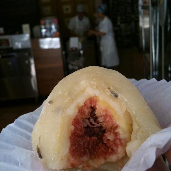 Lavender With Fig Mochi @ Ebisu Restaurant