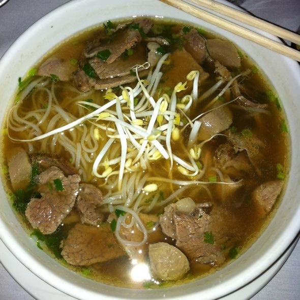 Beef Pho @ Saigon Paris Bistro