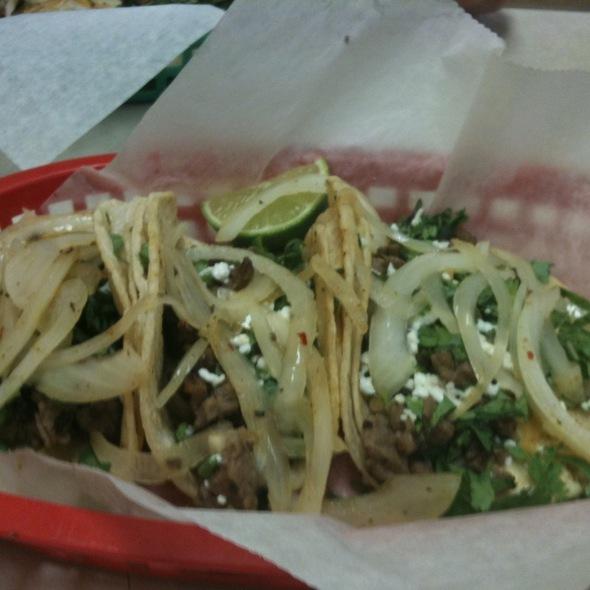 Carne Asada Tacos @ Tex Mex