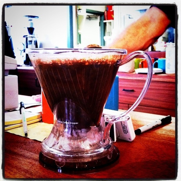 stumptown coffee @ Morning Glass Coffee & Cafe