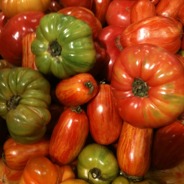 Local Heirloom Tomatoes @ Whole Foods Market Friendship Heights