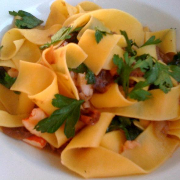 Homemade Pappardelle @ TR Restaurant & Bar