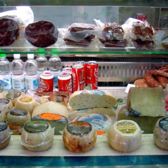 Coppa, Salami and Various Cheese @ Mercato Dell' Unita