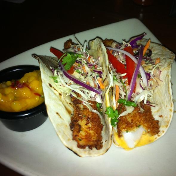Crispy Fish Tacos @ Grillsmith