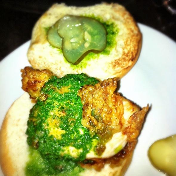 Fried Chicken Slider @ The Shed at Glenwood
