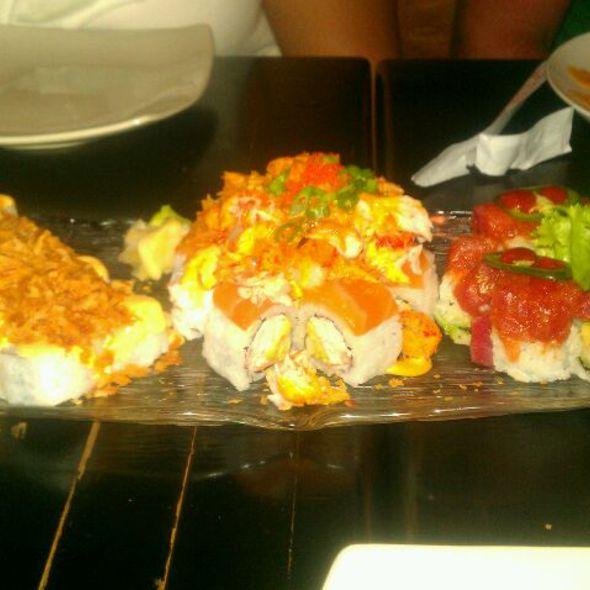 Wild Coconut Roll @ Saii Bistro & Sushi Bar