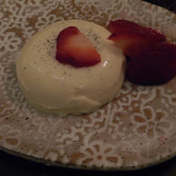 White Chocolate Panna Cotta - Lotus Farm to Table, Media, PA