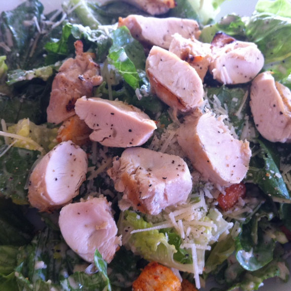 Chicken ceasar salad @ Castaway Cafe