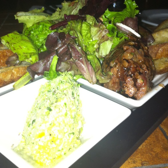 trio of tuna (sashimi, carpaccio and tartare)  - Fivespice Seafood & Wine Bar, Lake Oswego, OR