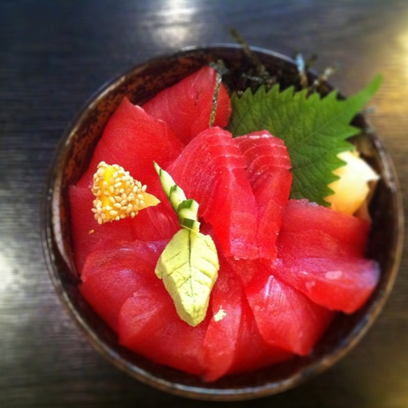 Tuna Sashimi On Sushi Rice