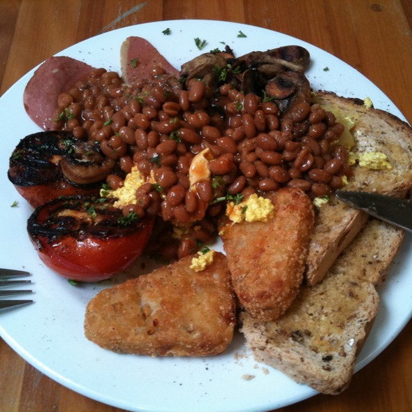 Vegan Breakfast @ The Alley Cafe
