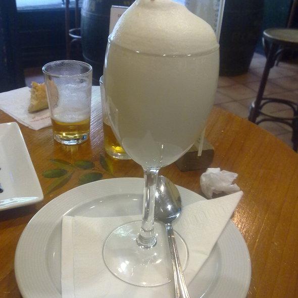 Espuma de limón @ El Olivar De Ayala