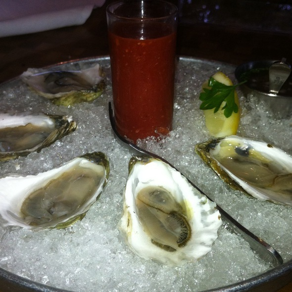 Oysters on the Half Shell - Oro, Scituate, MA