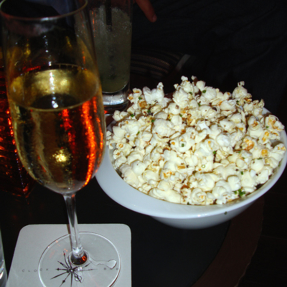 Truffle Popcorn @ Clock Bar