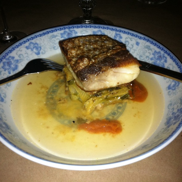 Striped Bass @ southwark restaurant