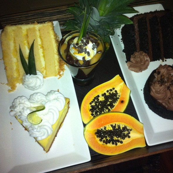 Assorted Dessert Selections - Tommy Bahama Restaurant & Bar - Orlando, Orlando, FL