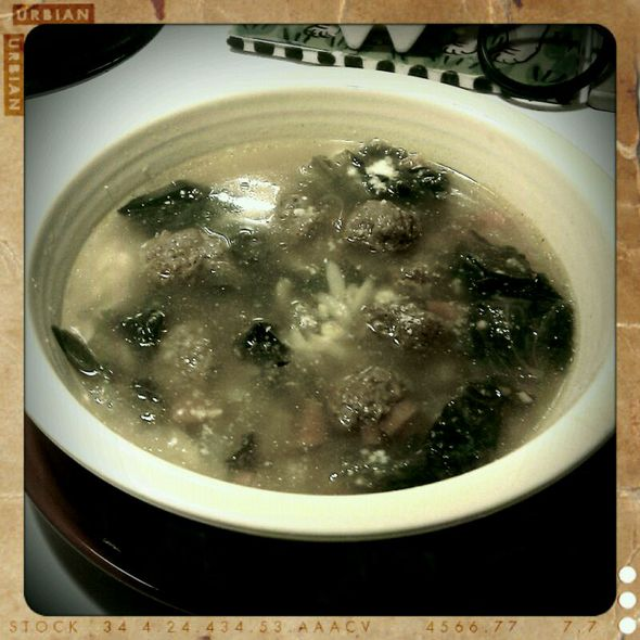 Italian Wedding Soup @ The Mothership
