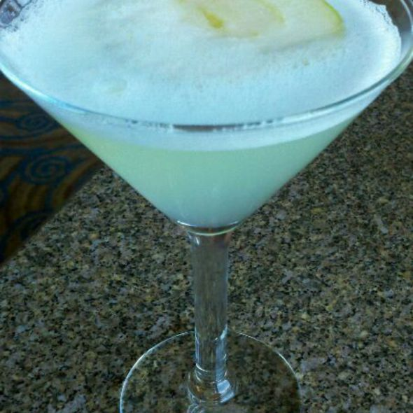 Granny Smith Martini - Chart House Restaurant - Portland, Portland, OR