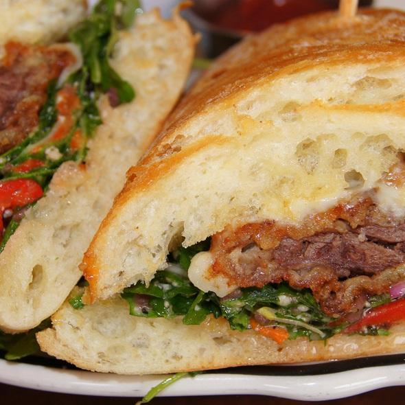 Breaded Steak Sandwich @ Rosebud Italian Specialties & Pizzeria