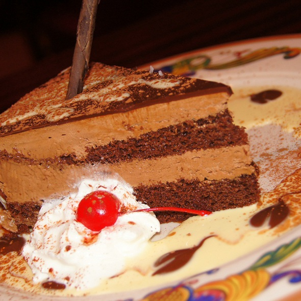 Godiva chocolate mousse cake @ Rosebud Italian Specialties & Pizzeria