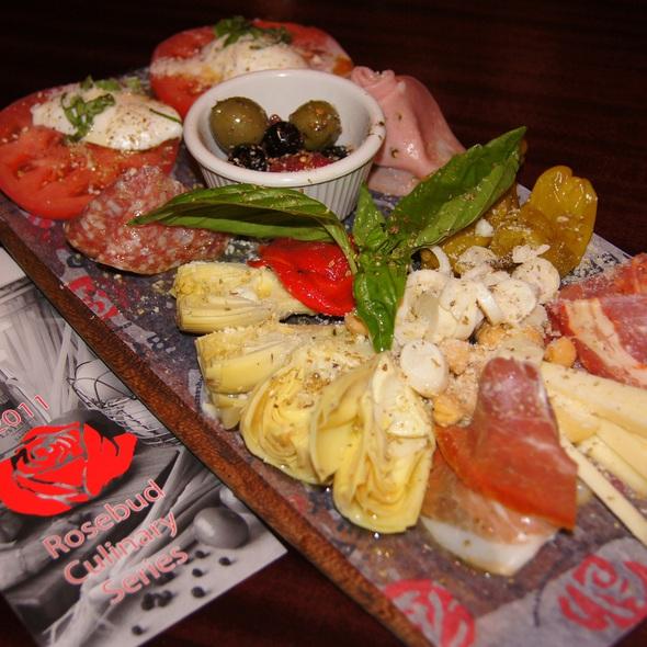Antipasto Misto @ Rosebud Italian Specialties & Pizzeria