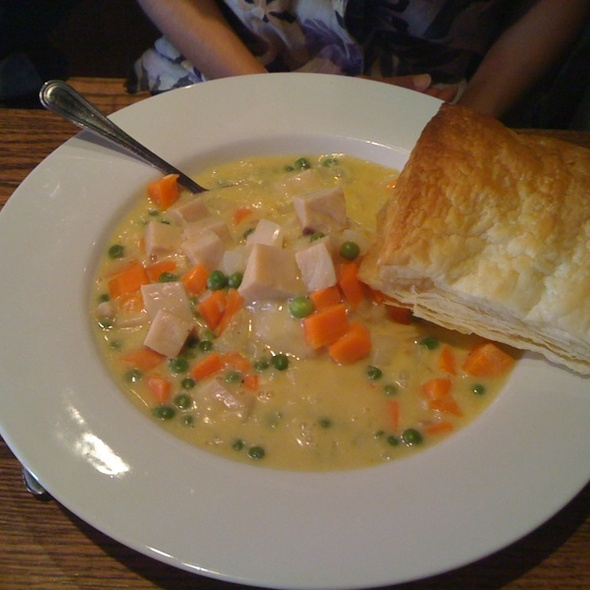 Turkey Pot Pie @ Archive Room