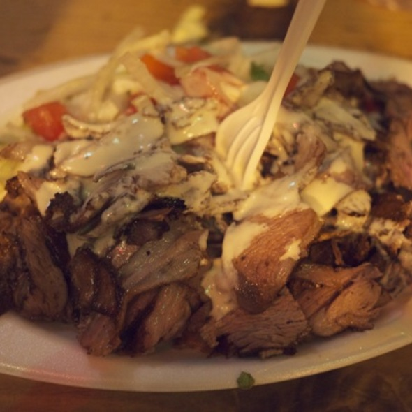 Lamb Shwarma @ Mamoun's Restaurant