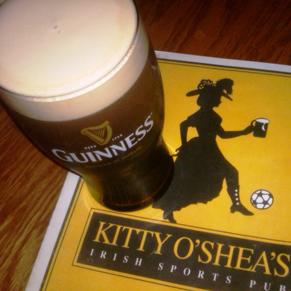 Guinness @ Kitty O'Shea's Irish Sports Pub