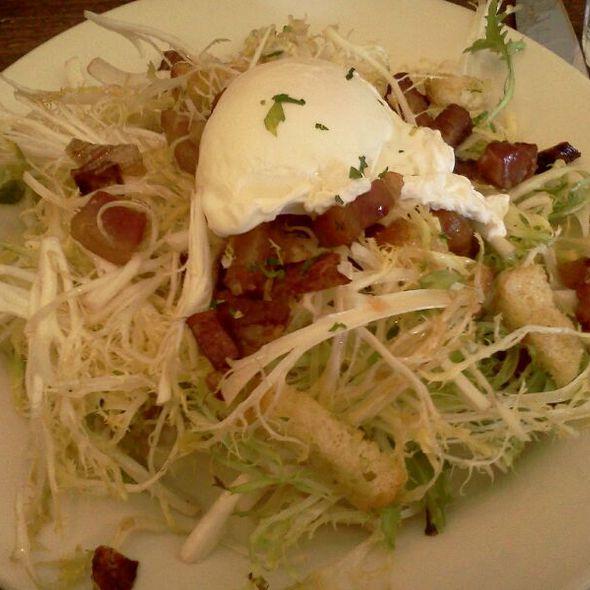 Lyonaise Salad - Nizza La Bella, Albany, CA