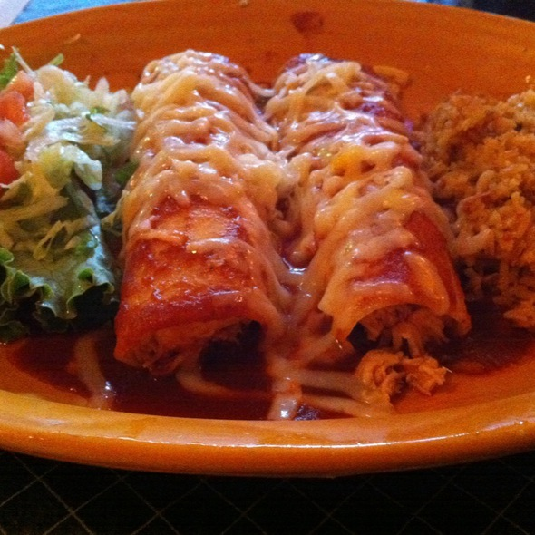 Chicken Enchiladas @ Uncle Julio's Rio Grande Cafe