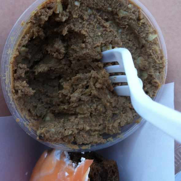 chopped liver @ Russ & Daughters