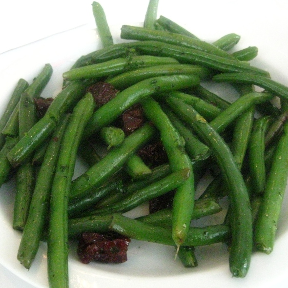 Green Beans with Cherries @ Steve's Deli Chicago