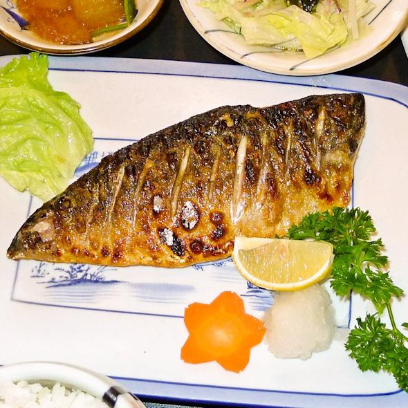 Grilled Saba with Salt @ Aji Kagu Ra