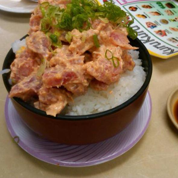 Spicy Ahi Bowl @ Kuru Kuru Sushi
