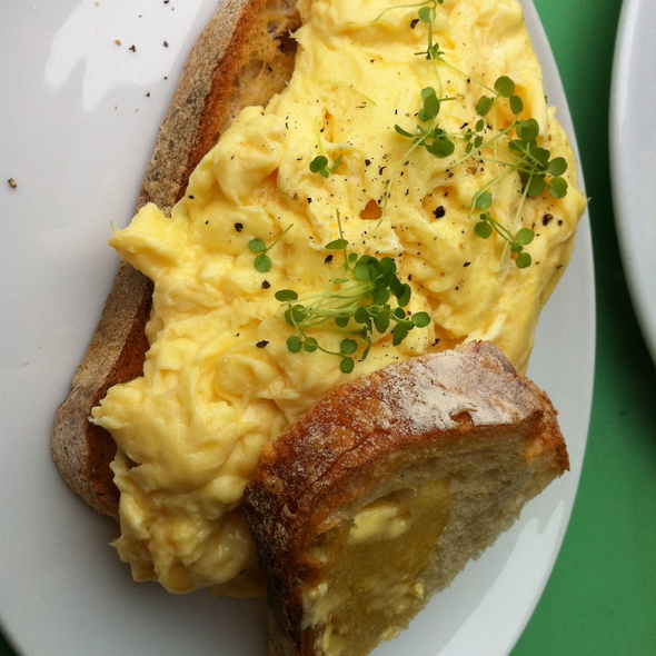 Scrambled Eggs @ Collective Espresso