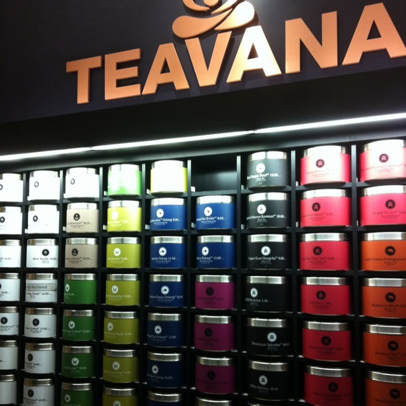 Sweet Oolong Revolution @ Teavana Tea Store